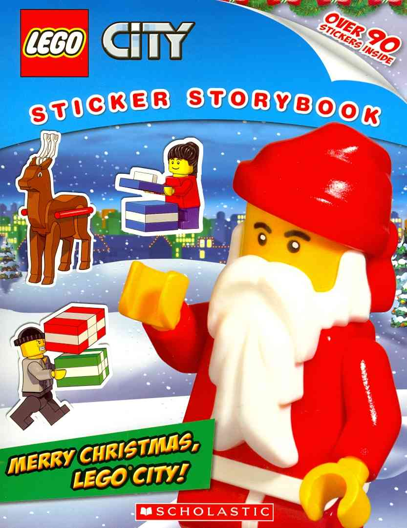 Merry Christmas, Lego City! By Scholastic Inc. (COR)