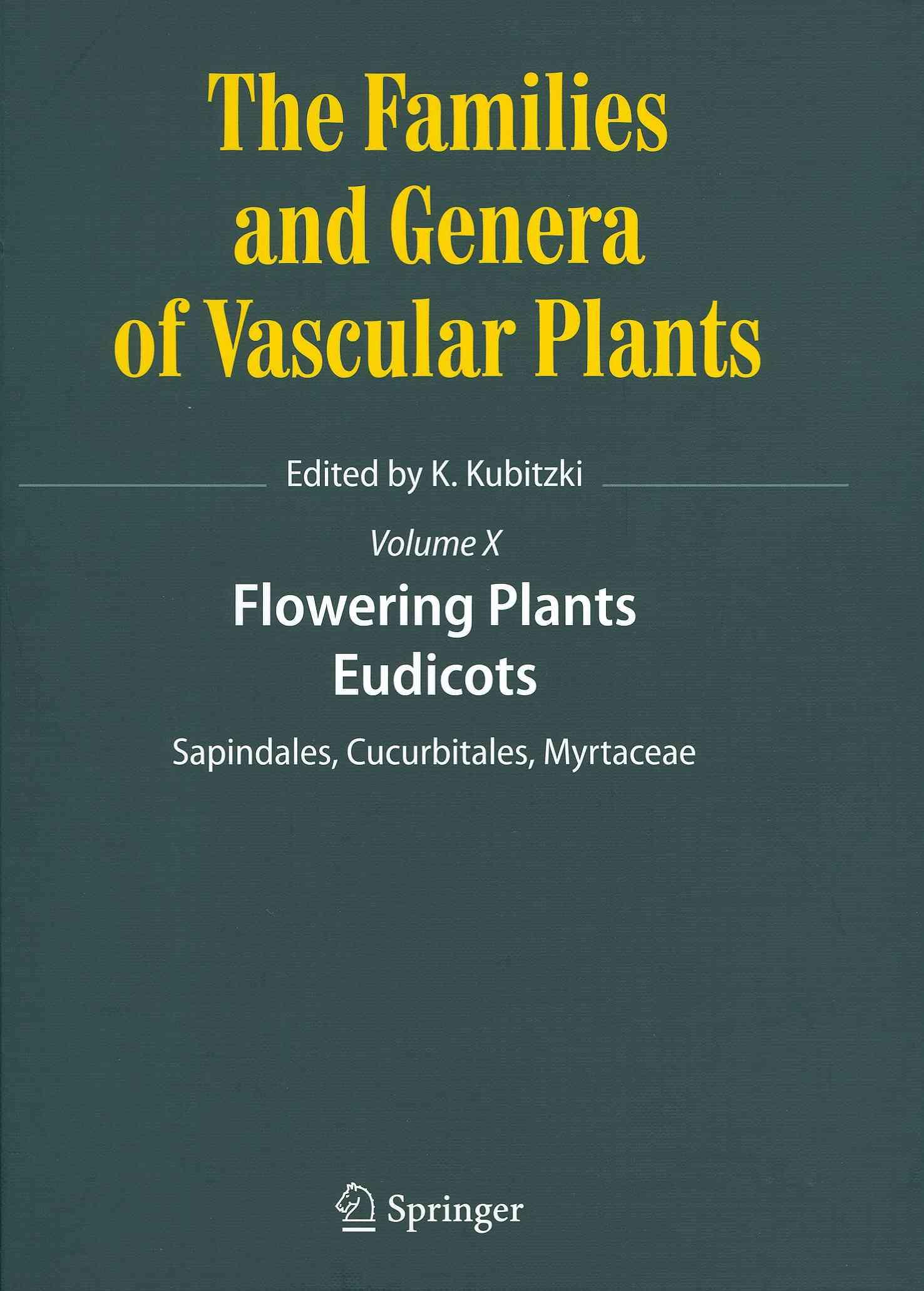 Flowering Plants By Kubitzki, Klaus (EDT)